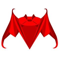 Origami Bat vector