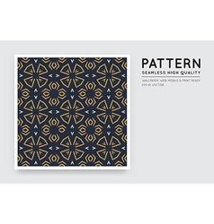 Seamless arabian style abstract pattern vector