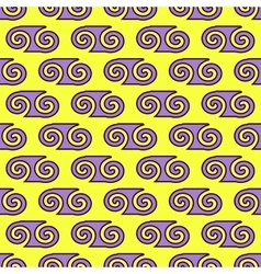 Spiral geometric seamless pattern 4606 vector image vector image