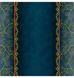 Vintage background for invitation menu cover vector image