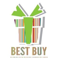 Best buy label vector image vector image
