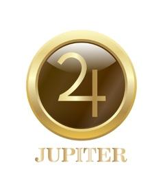 Jupiter vector image