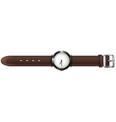 A topview of a watch vector image