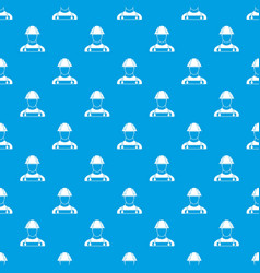 builder pattern seamless blue vector image
