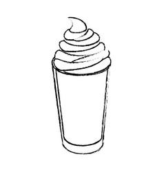 Coffee drink icon vector