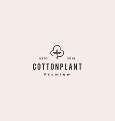 Cotton logo icon download vector