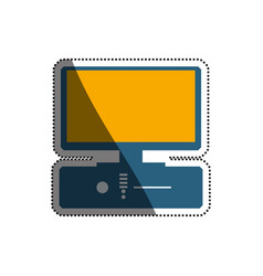 Pc computer technology vector