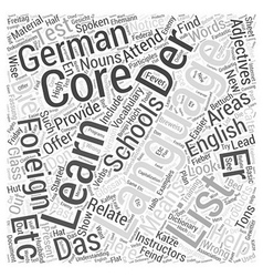 Present and past german participles in foreign vector