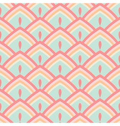 Seamless abstract geometric pattern pastel vector image