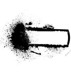 Splash banner vector image