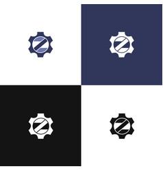 Z logo auto vector
