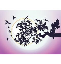 fantasy fairy vector image