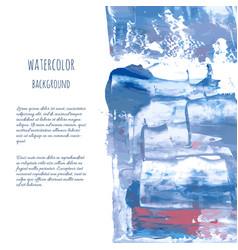 Gray blue watercolor texture vector