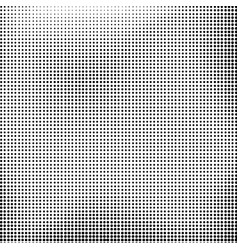 halftone background dotted dirty damaged spotted vector image