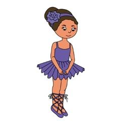 Little girl 3 vector