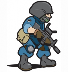 spec cops vector image