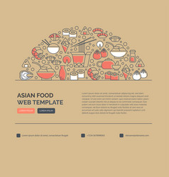 Sushi web templates vector