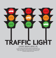 Traffic light vector image