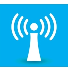 Wi-Fi Transmission of Data vector image