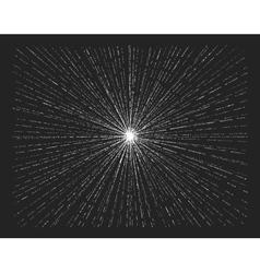 Starburst on blackboard vector