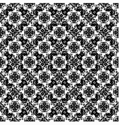 abstract monochrome beautiful seamless pattern on vector image