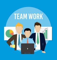 Business teamwork concept vector