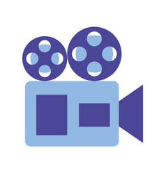 camera projector production movie film vector image