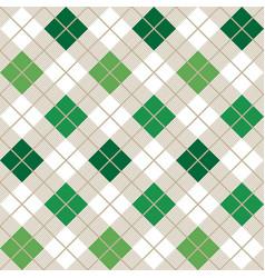 Green argyle harlequin seamless pattern vector