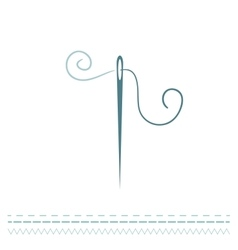 Sewing Needle vector