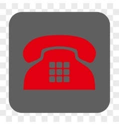 Tone Phone Rounded Square Button vector