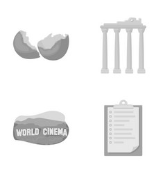 tourism travel ecology and other web icon in vector image