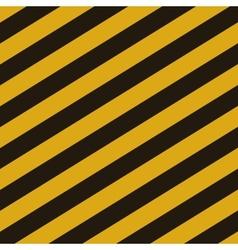 Grunge striped cunstruction background vector image vector image