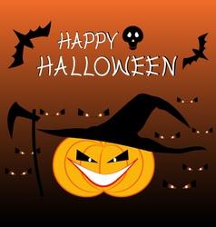 halloween celebration backgrou vector image