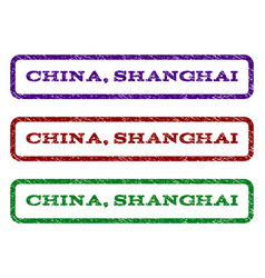 China shanghai watermark stamp vector