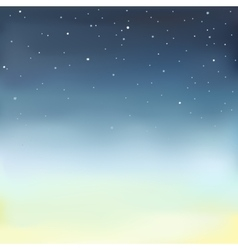 a starry sky vector image