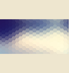 abstract hexagonal background geometric vector image