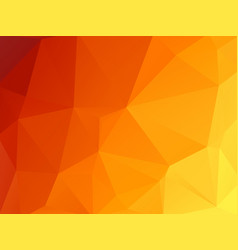 abstract hot triangles geometric background vector image