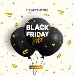 Black friday sale banner 3 vector