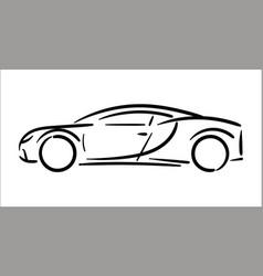 Concept of car icon vector