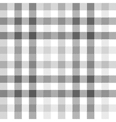 Gray check seamless fabric texture vector image