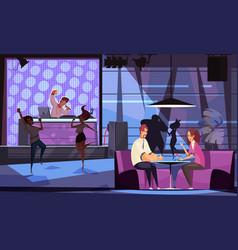 Live music bar vector