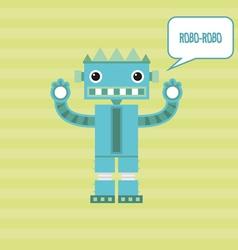 Robot robo-robo vector