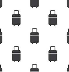 travel bag seamless pattern vector image