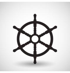 Wheel symbol vector image