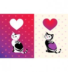 kitten vector image vector image