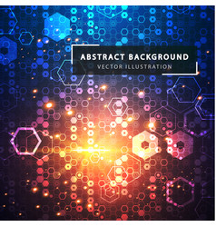 technology abstract background futuristic vector image vector image