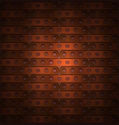 metallic background steampunk vector image vector image