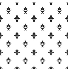 Samovar pattern simple style vector image vector image