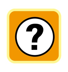 A icon of question mark vector