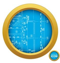 Architecture icon vector